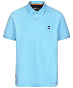 Men's Timberland Millers River Pique Polo Shirt - Blue Topaz