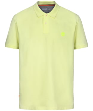 Men's Timberland Millers River Pique Polo Shirt - Luminary Green