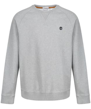 Men's Timberland Exeter River Basic Loopback Crew Sweatshirt - Grey Heather