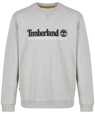 Men's Timberland Outdoor Heritage Crew Neck Sweatshirt - Grey Heather
