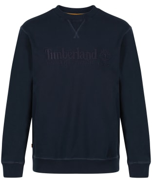 Men's Timberland Outdoor Heritage Crew Neck Sweatshirt - Dark Navy