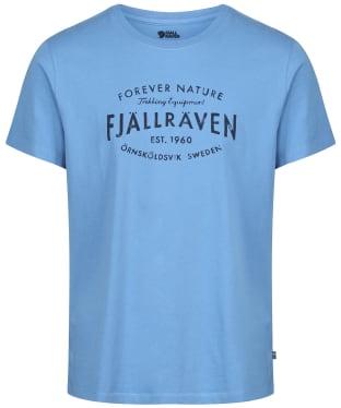 Men's Fjallraven Est 1960 T-Shirt - River Blue