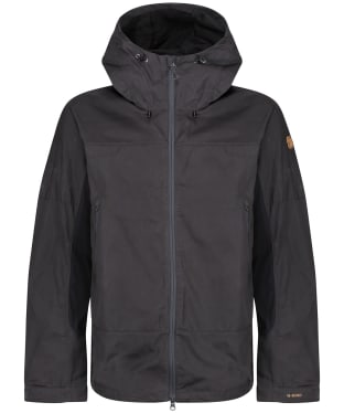 Men's Fjallraven Abisko Lite Trekking Jacket - Dark Grey / Black