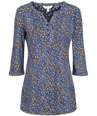 Women's Seasalt Tolcarne Tunic - Tulip Ditsy Waterline