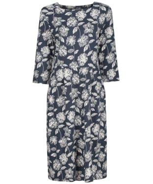 Women's Seasalt Tamsin Dress - Sketched Flowers Granite