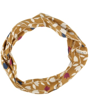 Women's Seasalt Flower Harvest Headband - Torn Tulip Claystone