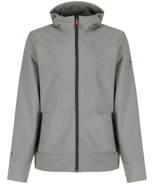 Men's Musto Land Rover Full Zip Softshell Hoodie - Gunmetal