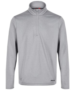 Men's Musto Essential ½ Zip Sweat - Grey Melange