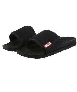 Men's Hunter Adjustable Sliders - Black
