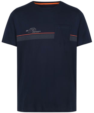 Men's Musto Land Rover Pocket T-Shirt - Navy