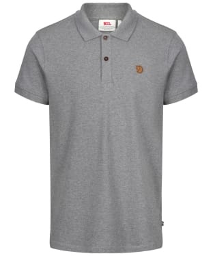 Men's Fjallraven Ovik Polo Shirt - Grey
