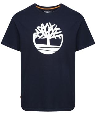 Men's Timberland Kennebec River Tree Tee - Dark Navy