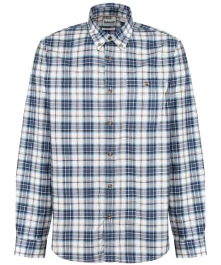 Men's Timberland LS Plaid Shirt - Dark Denim