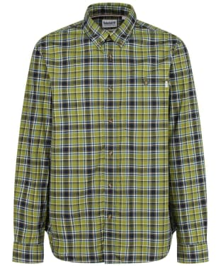 Men's Timberland LS Plaid Shirt - Calla Green