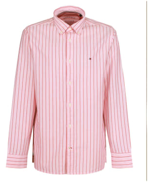 Men's Tommy Hilfiger Preppy Oxford Stripe Shirt - Glacier Pink / Multi