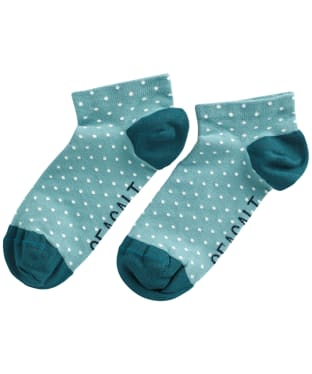 Women's Seasalt Everyday Trainer Socks - Confetti Coastline