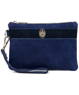 Women's Hicks & Brown Chelsworth Clutch Bag - Navy