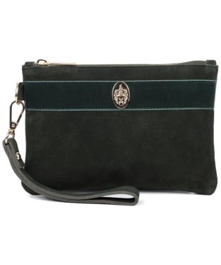 Women's Hicks & Brown Chelsworth Clutch Bag - Olive