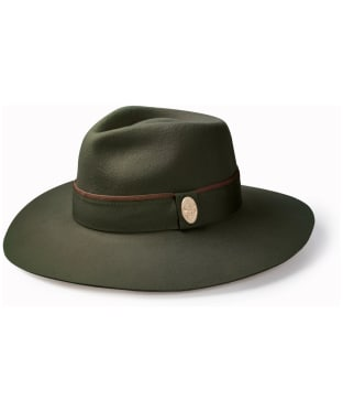 Women's Hicks & Brown Oxley Fedora - Olive