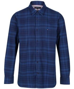 Men's Tommy Hilfiger Check Shirt - Dark Indigo