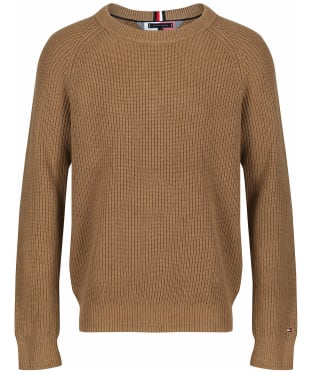 Men's Tommy Hilfiger Classic Rib Sweater - Classic Camel Heather