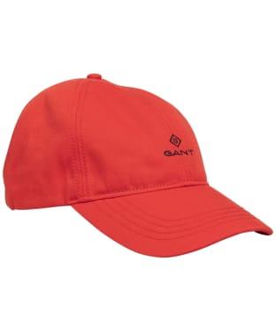 Men's GANT Contrast Twill Cap - Lava Red