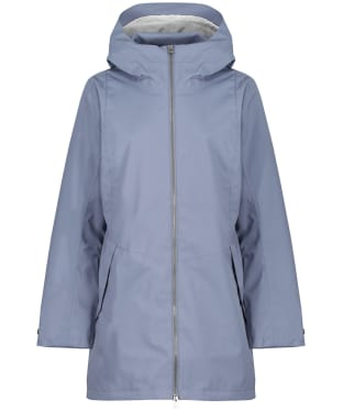 Women's Didriksons Folka Waterproof Parka 4 - Foggy Blue
