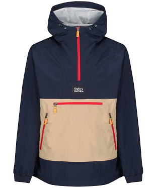Men's Didriksons Vilmer Anorak - Dark Night Blue