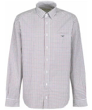 Men's R.M. Williams Collins Shirt - White / Blue / Rust
