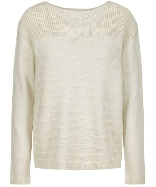 Women's Seasalt Harbour Beach Jumper - Ecru