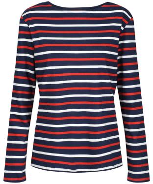 Women's Seasalt Sailor Shirt - Duet Breton Dark Cinnamon