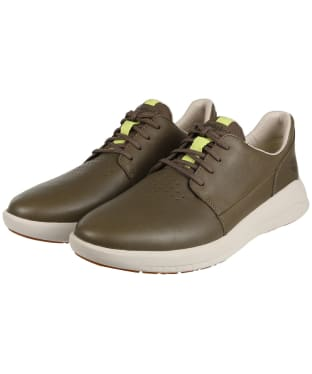 Men's Timberland Bradstreet Ultra Leather Oxford Shoes - Olive Nubuck