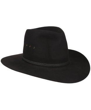 "Men's R.M. Williams Akubra ""RM"" Hat - Black"