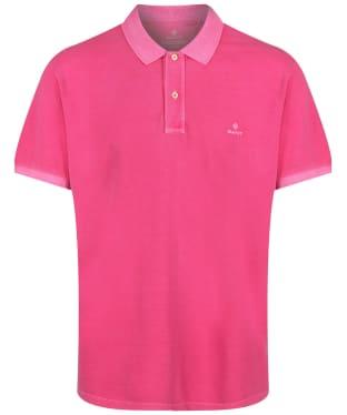 Men's GANT Sunbleached Polo Shirt - Cabaret Pink