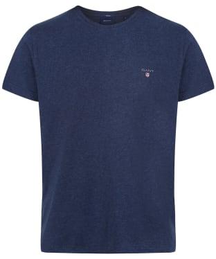 Men's GANT Solid T-Shirt - Marine Melange