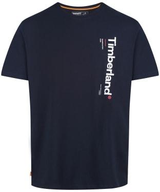 Men's Timberland Kennebec River Logo Carrier Tee - Dark Navy