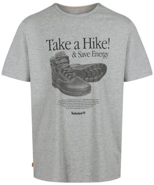 Men's Timberland Archive Front Hiker Tee - Grey Heather