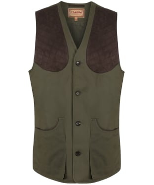 Men's Schoffel All Seasons Shooting Vest - Dark Olive