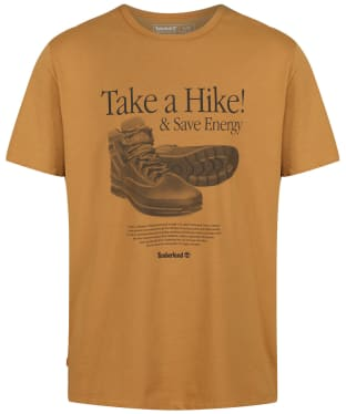 Men's Timberland Archive Front Hiker Tee - Wheat Boot