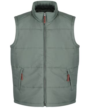 Men's R.M. Williams Patterson Creek Vest - Eucalyptus