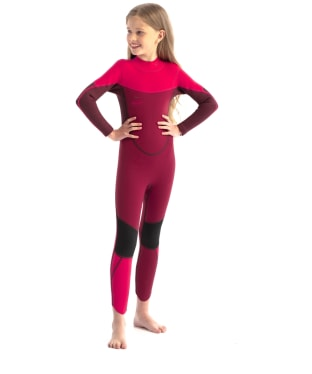 Kids Jobe Boston 3/2mm Neoprene Wetsuit - Hot Pink