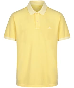 Men's GANT Sunbleached Polo Shirt - Brimstone Yellow