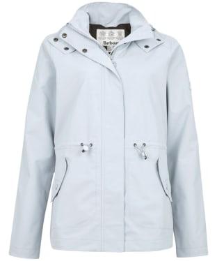 Women's Barbour Promenade Waterproof Jacket - Gray Dawn