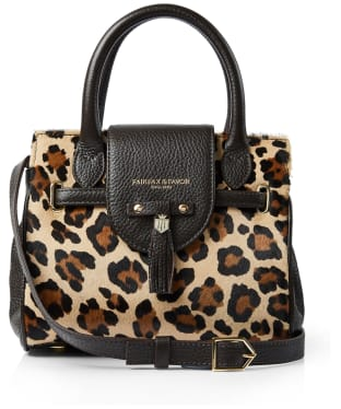 Women's Fairfax & Favor Mini Windsor Handbag - Jaguar Haircalf