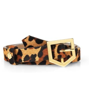 Women's Fairfax & Favor Sennowe Belt - Jaguar Haircalf