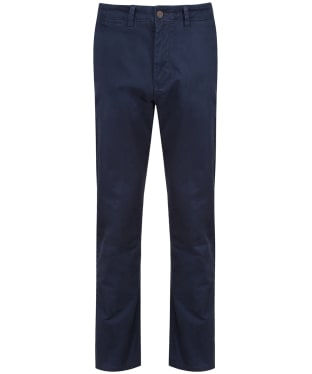 Men's Crew Clothing Straight Chino Trousers - Dark Navy