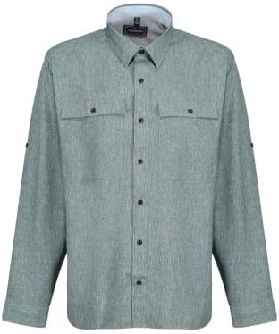 Men's Schoffel Findhorn Technical Fishing Shirt - Dark Olive