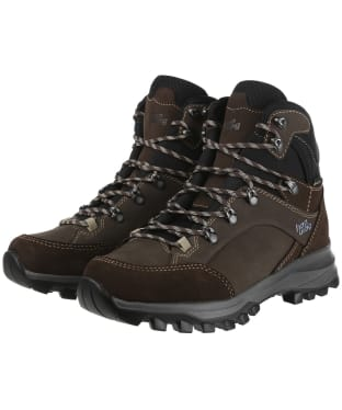 Women's Hanwag Banks GTX Boots - Mocca/Tan