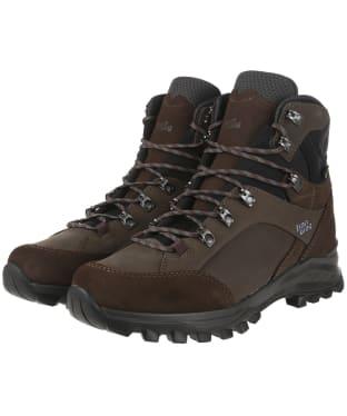 Men's Hanwag Banks GTX Boots - Mocca/Asphalt