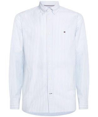 Men's Tommy Hilfiger Oxford Stripe Shirt - Calm Blue / White